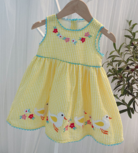 Load image into Gallery viewer, Goulding Yellow Dress