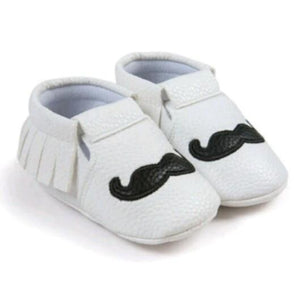 Romirus Mustache Shoes - Mom and Bebe Ph