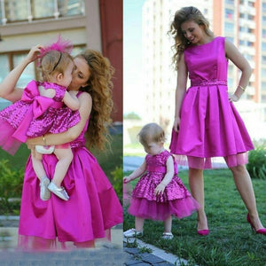 Rose Pink Sequin Dress - Mom and Bebe Ph