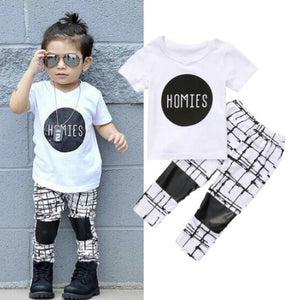 Homies Shirt Pants - Mom and Bebe Ph