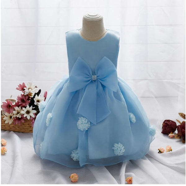 Blue Ball Gown Dress - Mom and Bebe Ph