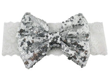 Load image into Gallery viewer, Sequins Bow Headband - Mom and Bebe Ph