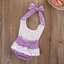 Load image into Gallery viewer, Purple Jumpsuit Romper - Mom and Bebe Ph