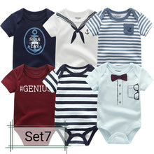 Load image into Gallery viewer, 6pcs Boy Girl Bodysuits