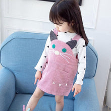 Load image into Gallery viewer, Kitty Cat Top + Dress - Mom and Bebe Ph