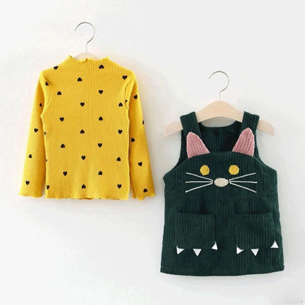 Kitty Cat Top + Dress - Mom and Bebe Ph