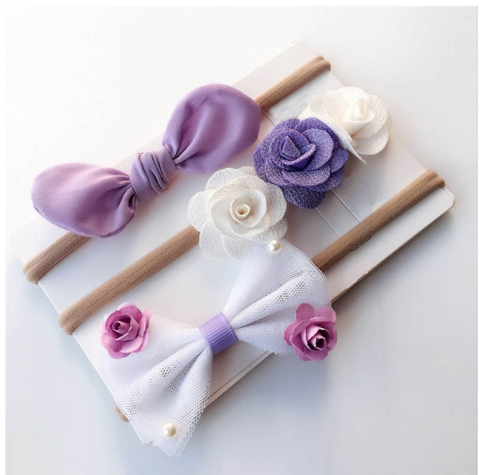 Lavender Set Headbands 3pcs - Mom and Bebe Ph