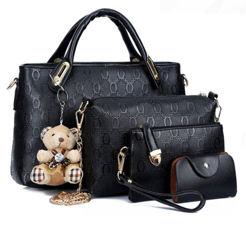 Ladies 4pcs Set Bags - Mom and Bebe Ph