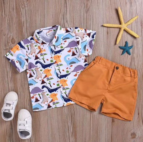 Safari Boys Top Pants - Mom and Bebe Ph