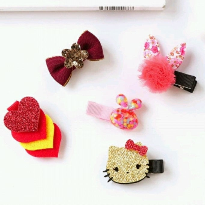 5pcs Hair Clips - Mom and Bebe Ph