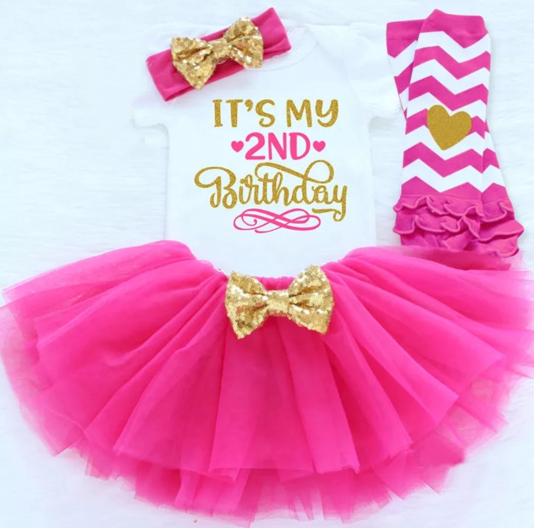 Its my 2nd birthday set (Hot Pink) - Mom and Bebe Ph