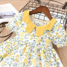 Load image into Gallery viewer, Yellow Floral Dress - Mom and Bebe Ph