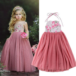 Esme Kids Long Dress - Mom and Bebe Ph