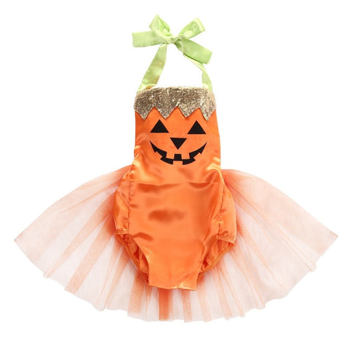 Halloween Pumpkin Dress