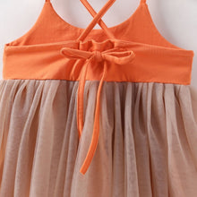 Load image into Gallery viewer, Orange Tulle Dress - Mom and Bebe Ph