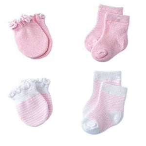 Mittens & Socks 4pcs - Mom and Bebe Ph
