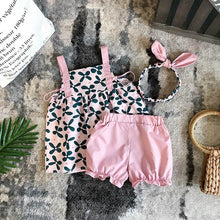 Load image into Gallery viewer, Headband+Floral Top+Shorts - Mom and Bebe Ph