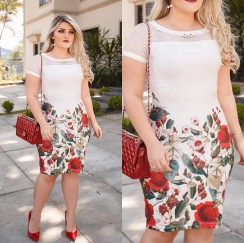 Plus Size Women Dress - Mom and Bebe Ph