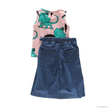 Load image into Gallery viewer, Dinosaur Top + Wide Trousers - Mom and Bebe Ph