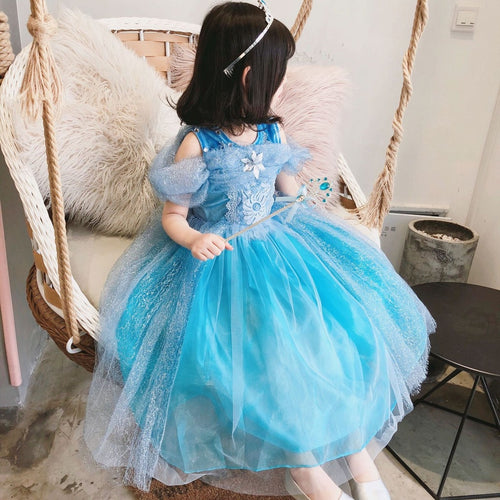 Frozen Inspi Dress - Mom and Bebe Ph