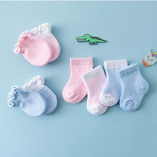 Load image into Gallery viewer, Mittens & Socks 4pcs - Mom and Bebe Ph
