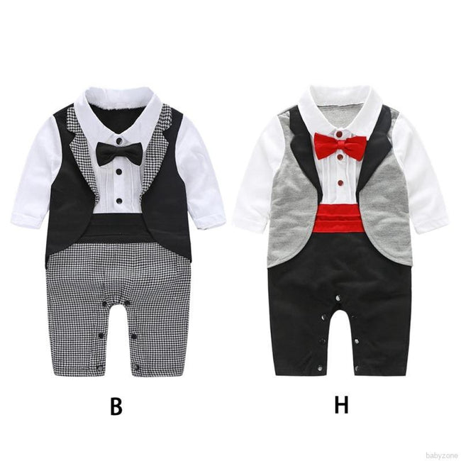 Little Gentleman Babysuit