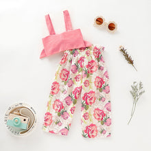 Load image into Gallery viewer, Tube Top & Flower Pants - Mom and Bebe Ph