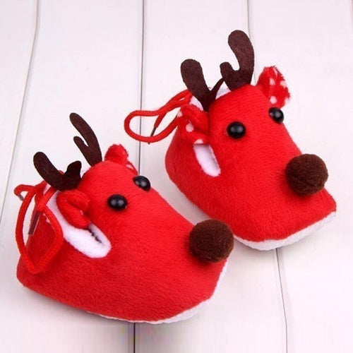Reindeer Baby Shoes - Mom and Bebe Ph