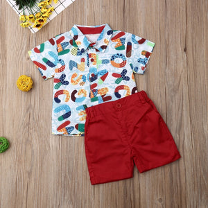 Colorful Boys Suit - Mom and Bebe Ph