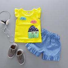 Load image into Gallery viewer, House Patch Top & Shorts - Mom and Bebe Ph