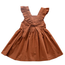 Load image into Gallery viewer, Brown Kids Dress - Mom and Bebe Ph