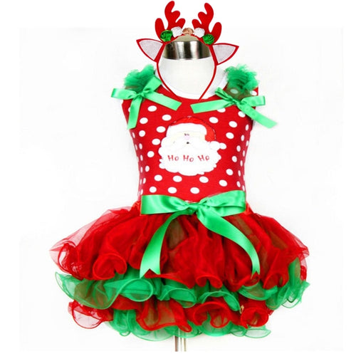 Xmas Dress + Headband - Mom and Bebe Ph