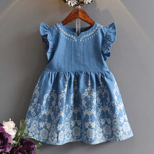 Load image into Gallery viewer, Lia Denim Dress - Mom and Bebe Ph