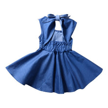 Load image into Gallery viewer, Denim Blue Dress - Mom and Bebe Ph