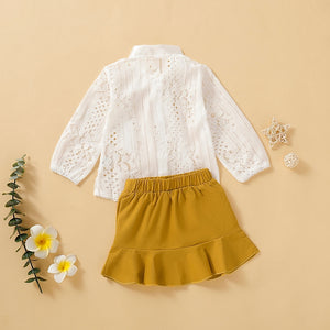 Rye Lace Top + Skirt - Mom and Bebe Ph