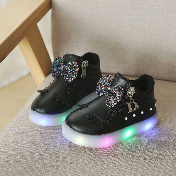 Girls Luminous Shoes 21~30