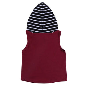 Stripes Red Top and Pants Set - Mom and Bebe Ph