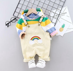 Rainbow Hoodie & Jumpsuit - Mom and Bebe Ph