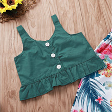 Load image into Gallery viewer, Green Top & Pants Set - Mom and Bebe Ph