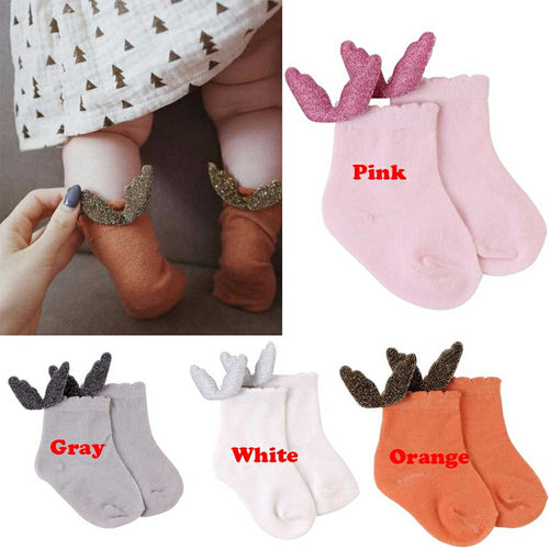 4Pcs Baby Socks - Mom and Bebe Ph