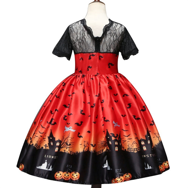 Halloween Dress 3-8yrs