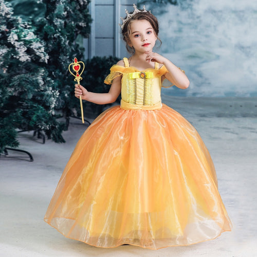 Princess Belle Costume Set