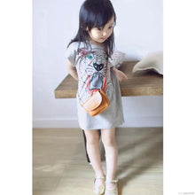 Load image into Gallery viewer, Kids Tiger Shirt Dress - Mom and Bebe Ph