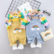 Load image into Gallery viewer, Rainbow Hoodie & Jumpsuit - Mom and Bebe Ph