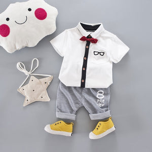 Little Gentleman Baby Suit - Mom and Bebe Ph