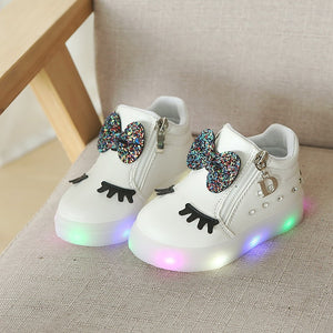 Girls Luminous Shoes 21~30 - Mom and Bebe Ph