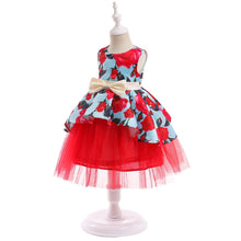 Load image into Gallery viewer, Red Roses Kids Dress - Mom and Bebe Ph