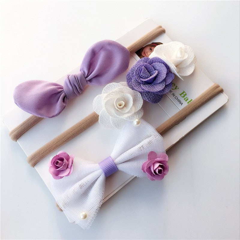 Purple 3pcs Headbands - Mom and Bebe Ph