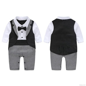 Little Gentleman Babysuit - Mom and Bebe Ph