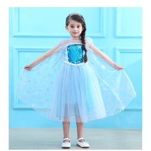 Load image into Gallery viewer, Frozen Princess Dress + Crown - Mom and Bebe Ph